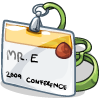 a Conference Badge