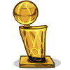an NBA Finals Trophy