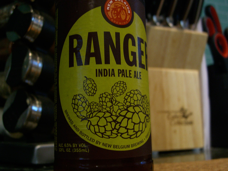 New Belgium Ranger IPA for the Beer Tempura