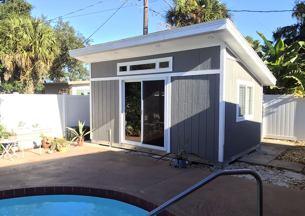 Shed Exterior Front
